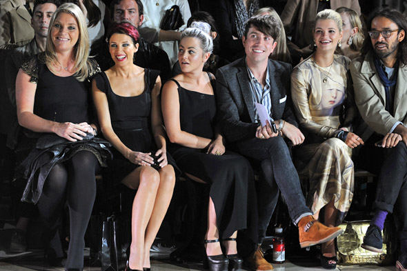 Dannii Minogue, Kelly Brook and Jessie J join the celeb melange at Giles