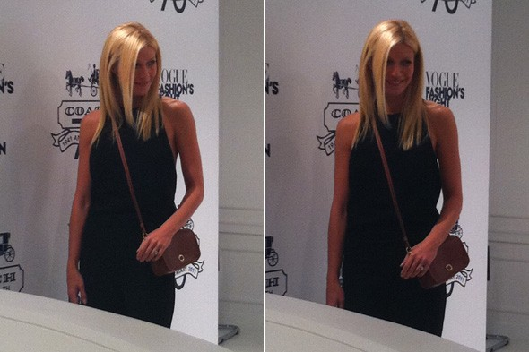 MyDaily meets Gwyneth Paltrow at Coach store Fashion's Night oUt