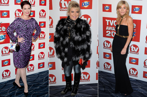 The good and the bad on the TV Choice Awards 2011 red carpet