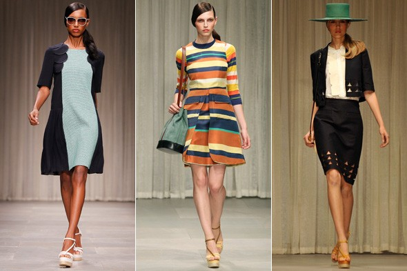 Catwalk Review: Jaeger London Spring/Summer 2012