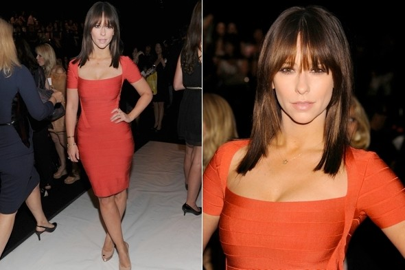 This is how you do it! Jennifer Love Hewitt shows up size zeros in New York