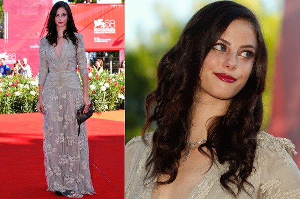 Kaya Scodelario at the Wuthering Heights Venice premiere