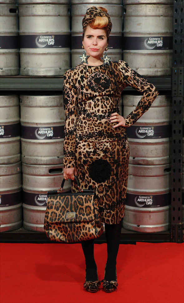 Hot or not: Paloma Faith's top-to-toe leopard print