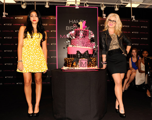 Kelly Osbourne helps Material Girl celebrate first birthday (but where was Madge?)