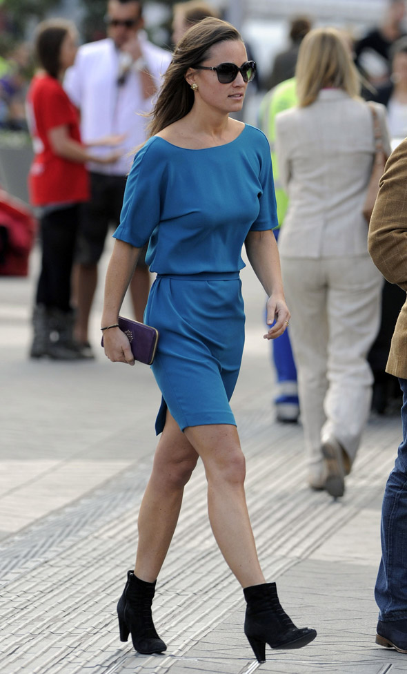P Middy embraces ankle boots - MyDaily is surprised but approving