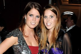 Beatrice and Eugenie attend Freddie Mercury celebration party