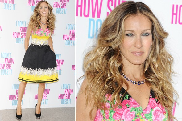 Sarah Jessica Parker at the I Don't Know How She Does It London photocall