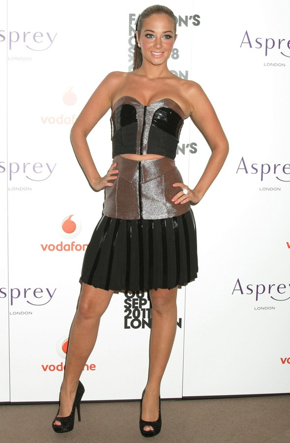 Tulisa Contostavlos at the Asprey Fashion's Night out party