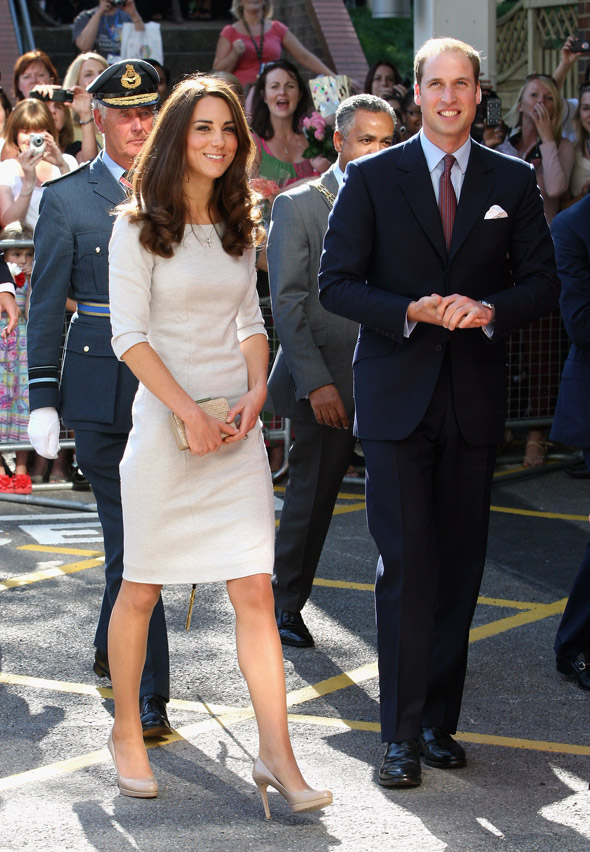 Kate and Wills make a dashing couple at cancer unit opening