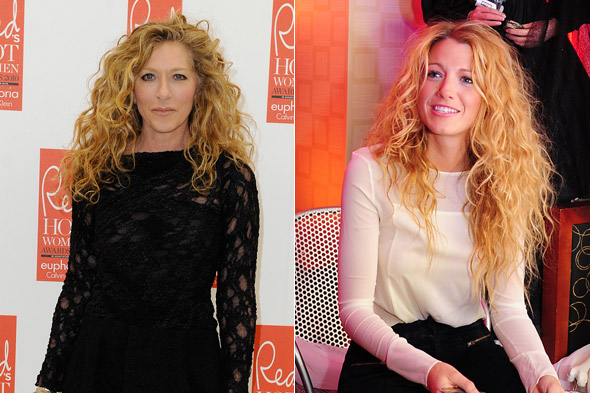 Whose hairstyle has Blake Lively stolen?