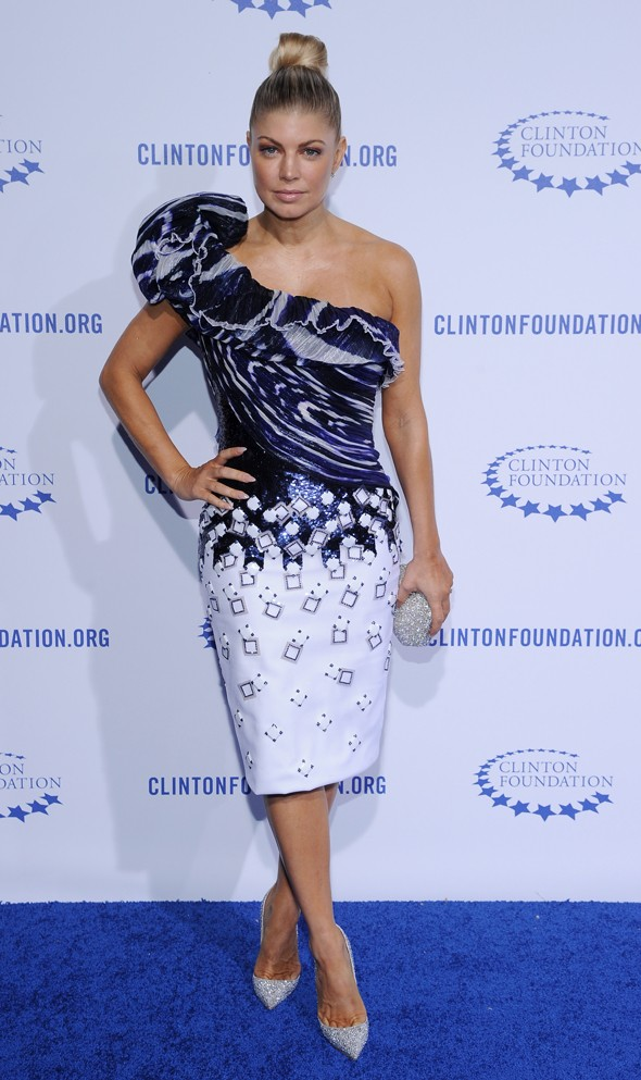 Jessica Alba, Rachel Zoe and Fergie step out for Clinton Foundation Gala