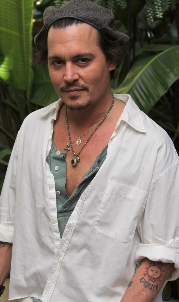 Johnny Depp, AOL, MyDaily, Kate McAuley, The Rum Diary