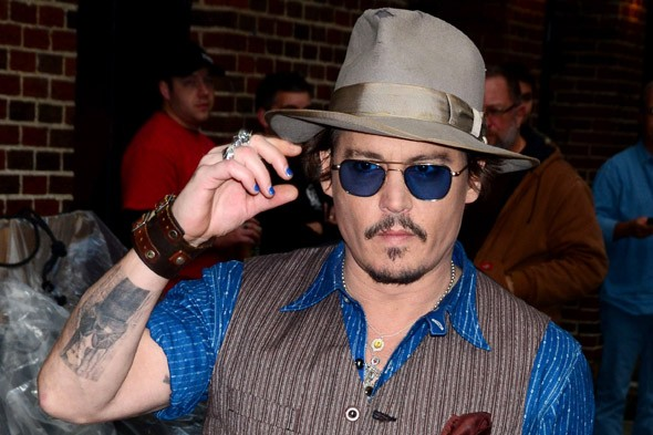 'Johnny Depp is physically incapable of looking bad'. Discuss