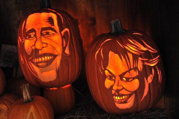 Double take: Can you guess these celebrity pumpkin portraits?
