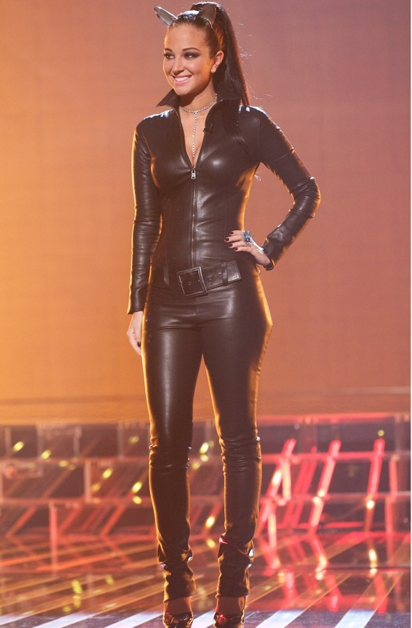Hot or not: Tulisa's X Factor Catwoman costume