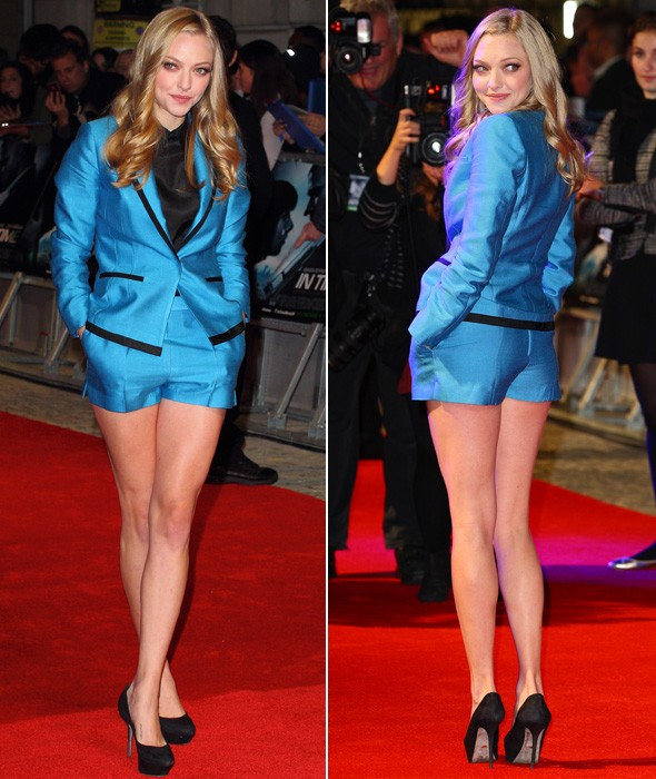 Hot or not: Amanda Seyfried hits London premiere in H&M short suit