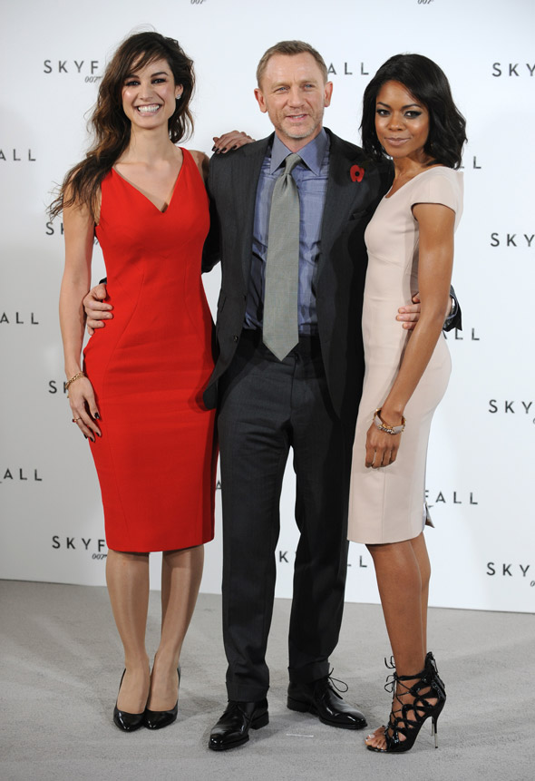 Skyfall photocall: So these are the new Bond girls, eh?