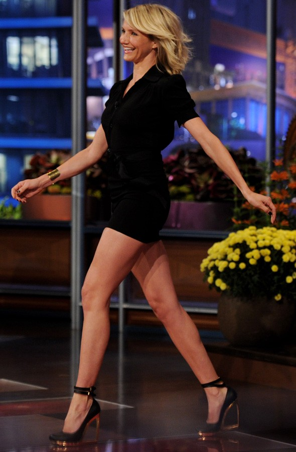 Cameron Diaz on The Tonight Show with Jay Leno