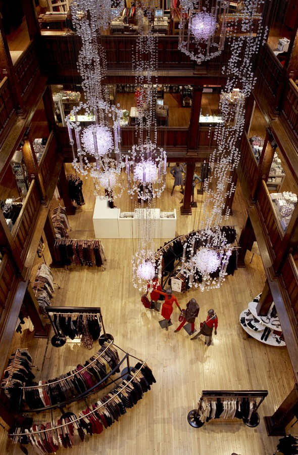Top of the Shops: Liberty of London voted the capital's number one store