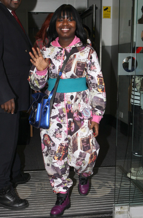 Hot or Not: Misha B's belted collaged jumpsuit
