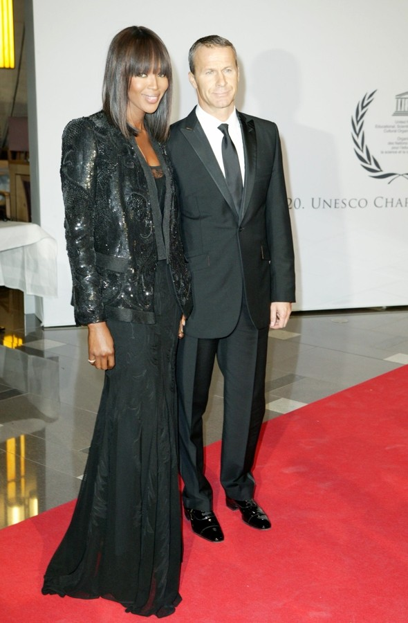 Hot or not: Naomi Campbell's suit jacket and glamorous gown