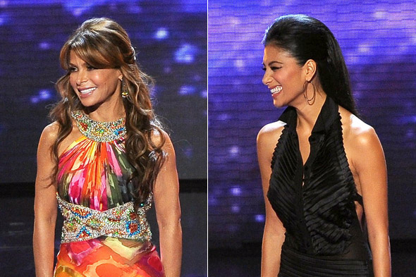 US X Factor Fashion: Nicole vs Paula