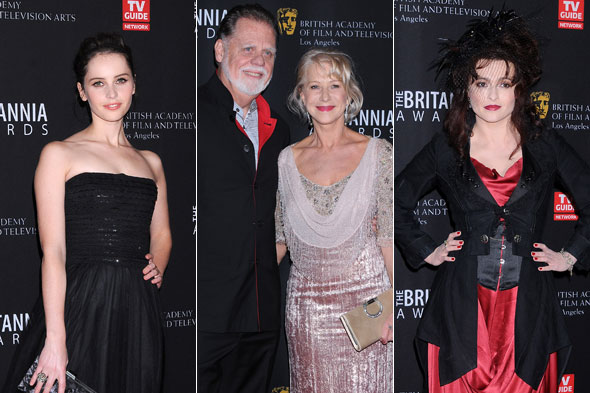 Red carpet report: The 2011 Britannia Awards