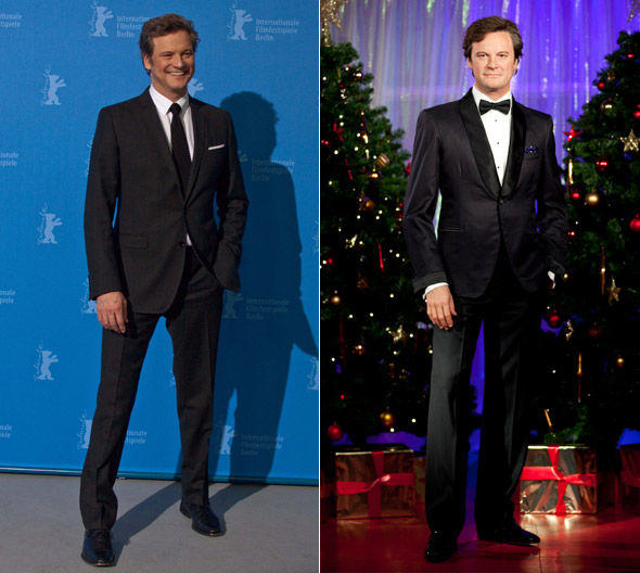 Hot or not: Colin Firth's waxwork