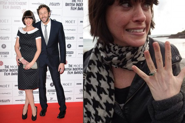 Chris O Dowd And Dawn Porter Are Engaged