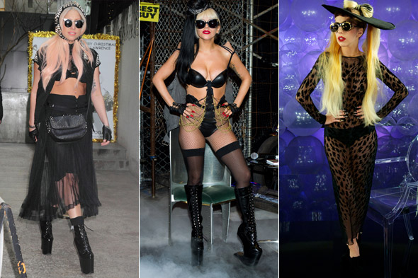 Lady Gaga: Just add knickers, bras and heels
