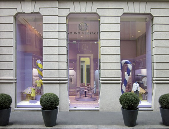 Young Versace children's clothing store opens in Milan