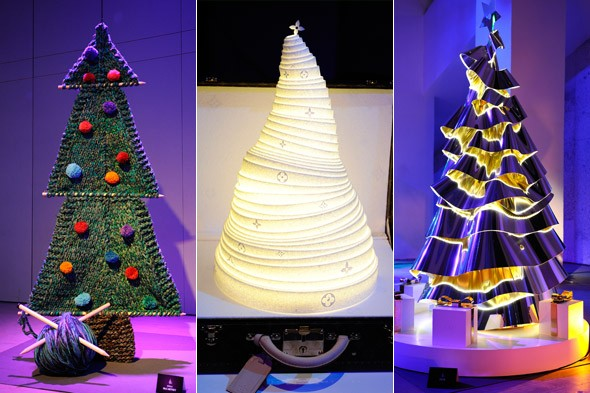 PICTURES: Designers create gorgeous couture Christmas trees