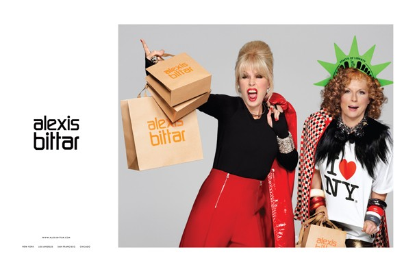 An Absolutely Fabulous ad campaign from Alexis Bittar