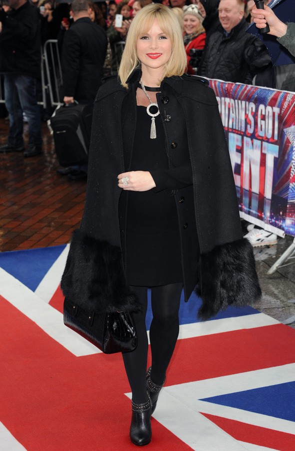 Amanda Holden at the Britain's Got Talent auditions in Manchester