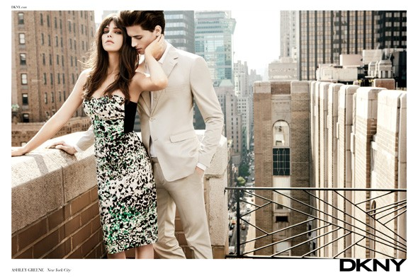 Ashley Greene for DKNY Spring/Summer 2012 campaign