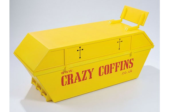 Quirky coffins take centre stage at Southbank Centre's 'Death' festival
