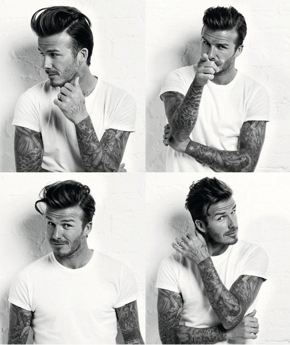 David Beckham for Men's Health March issue