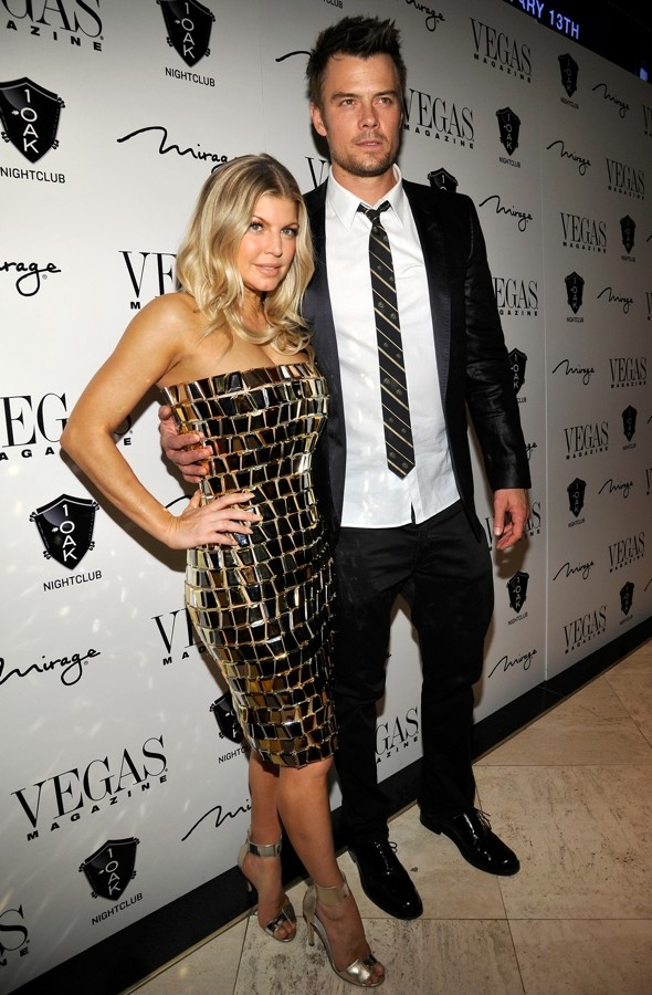 Did someone say disco (ball)? Fergie lights up NYE party in Las Vegas