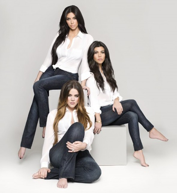 The Kardashians release debut denim kollection (for women with kurves)
