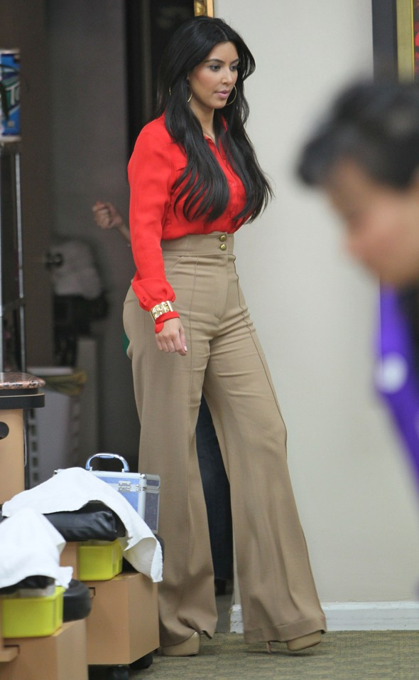 Hot or not: Kim Kardashian's seventies street style