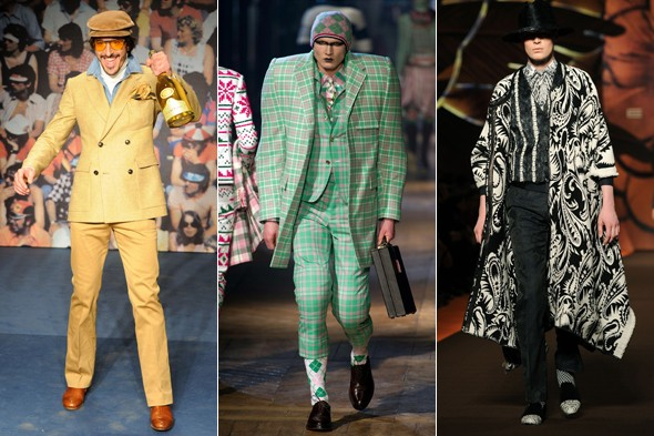 Ridiculous and wrong from the Menswear Autumn/Winter 2012 shows
