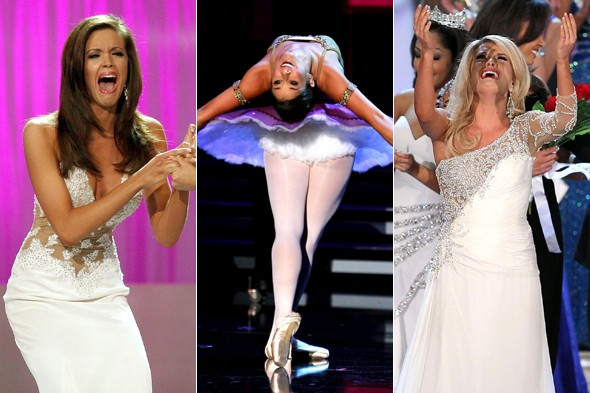 The many (hilarious) faces of Miss America
