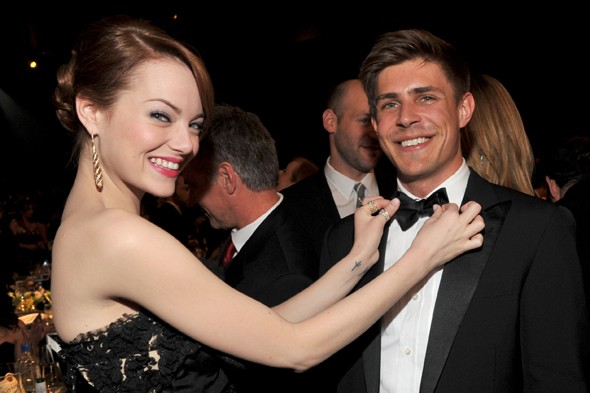 Onstage and backstage at the SAG Awards