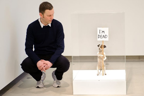 David Shrigley brings headless animals and surrealist scribbles to Southbank