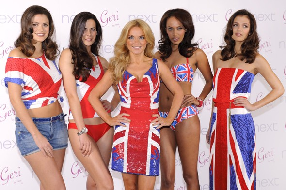 Geri Halliwell launches Union Jack Collection for Next
