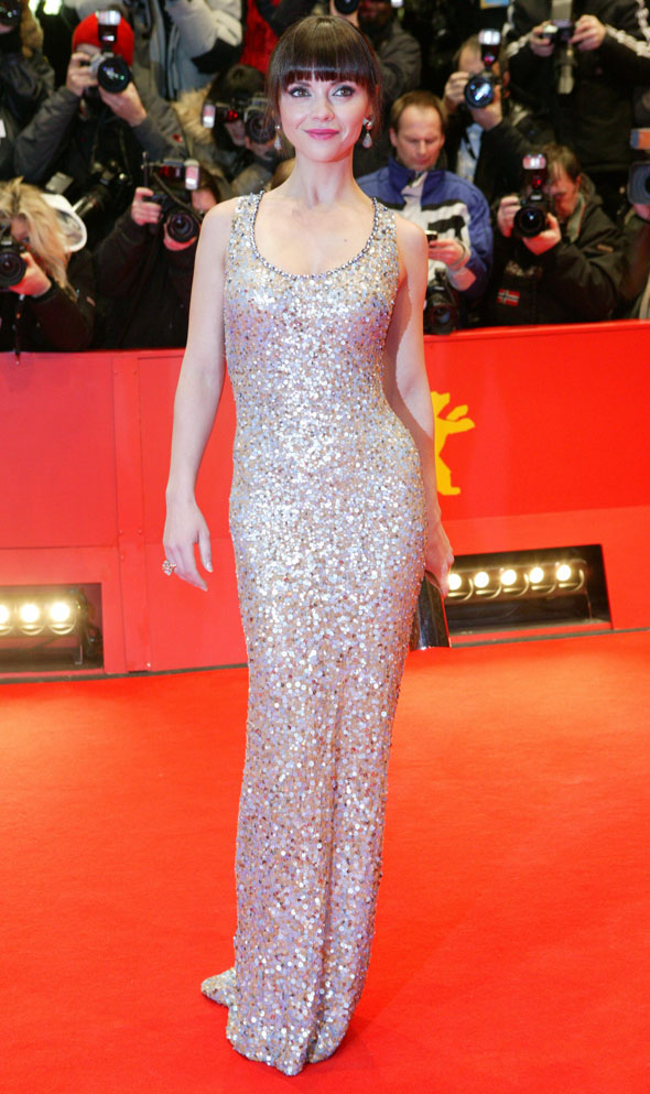 Christina Ricci is all slinky in sequins for film premiere