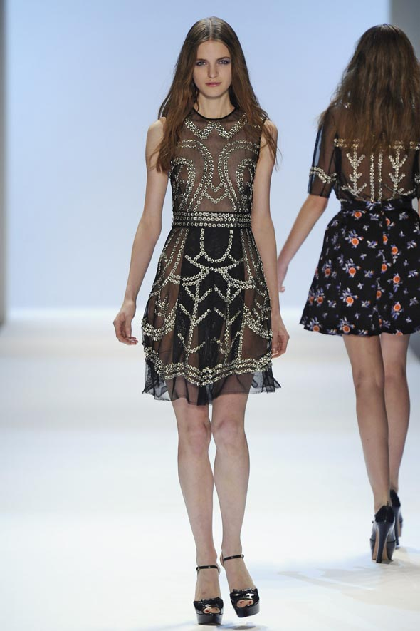 Jill Stuart pits sexy against sweet at NYFW