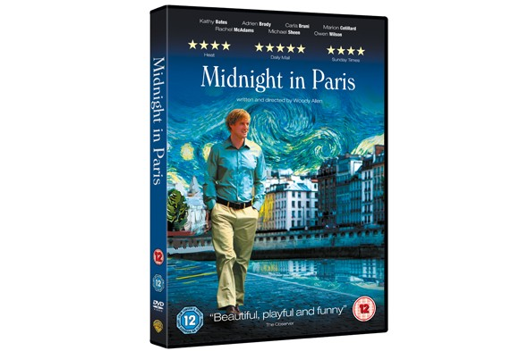 WIN: Rom-com DVD bundle including Oscar-nominated Midnight In Paris!