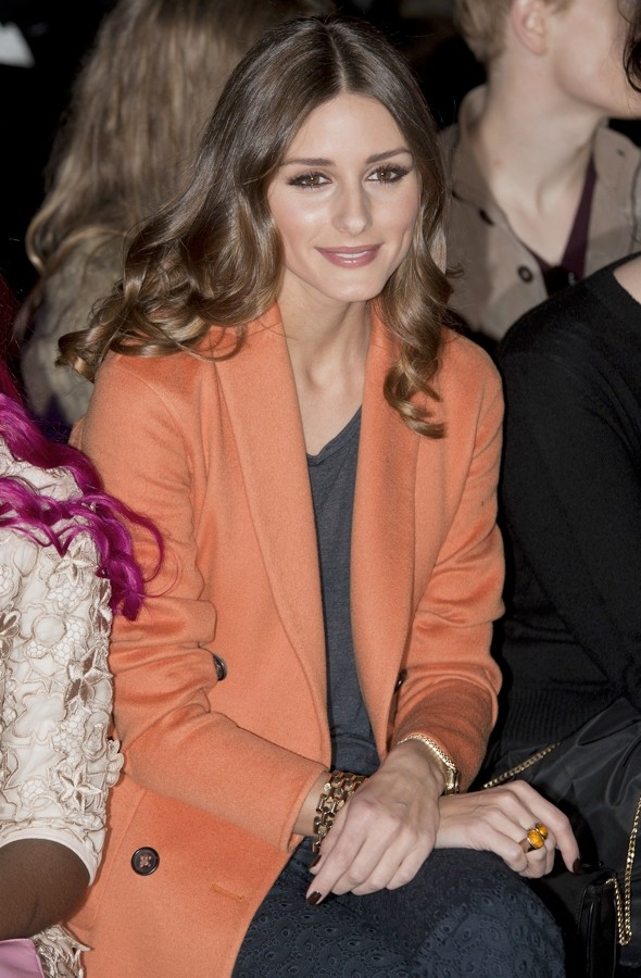 Downton Abbey meets Michelle Williams at the Mulberry fashion show