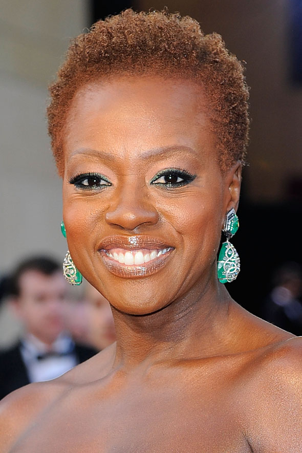 Oscars 2012: Viola Davis leads the natural hair trend